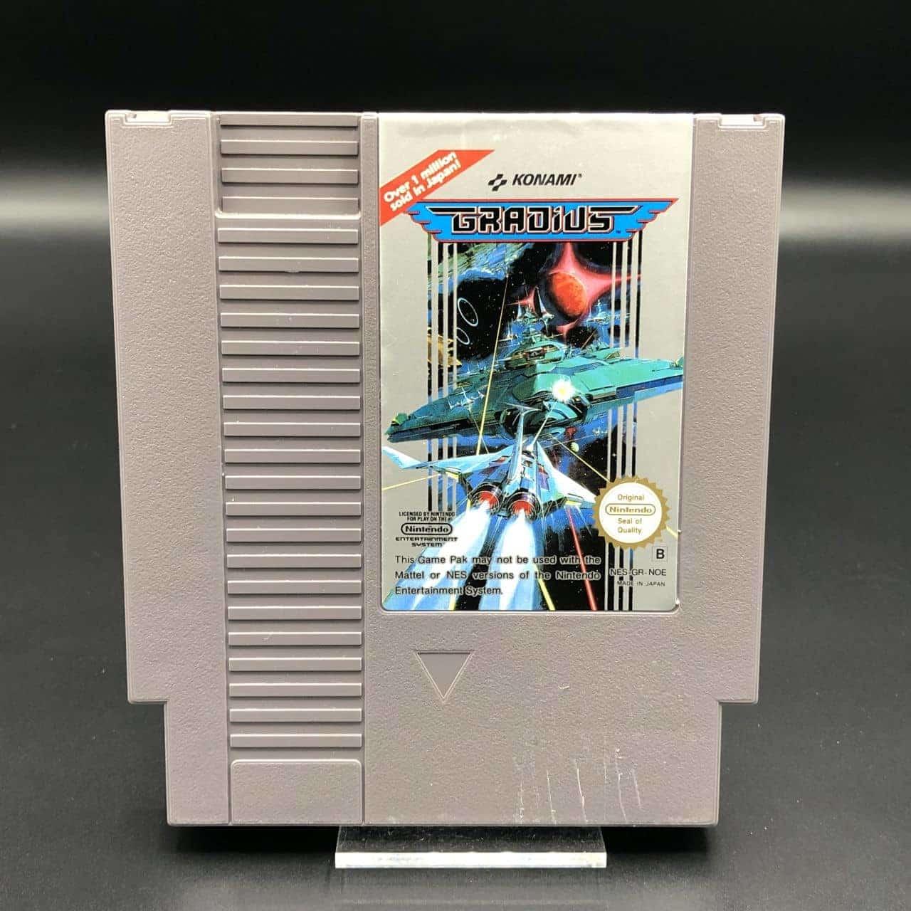 NES Gradius (Modul) (Gut) Nintendo Entertainment System
