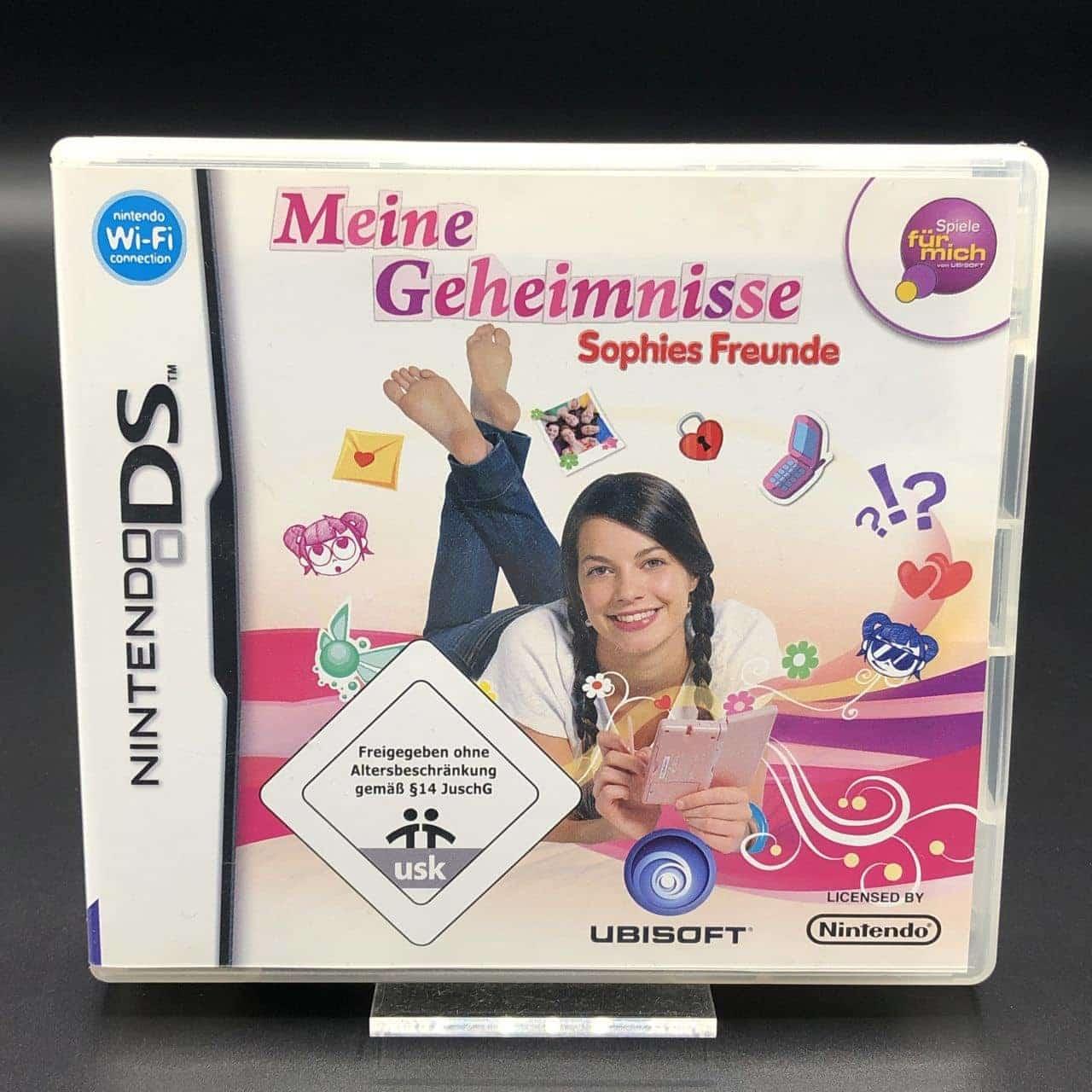 Meine Geheimnisse: Sophies Freunde (Komplett) (Sehr gut) Nintendo DS