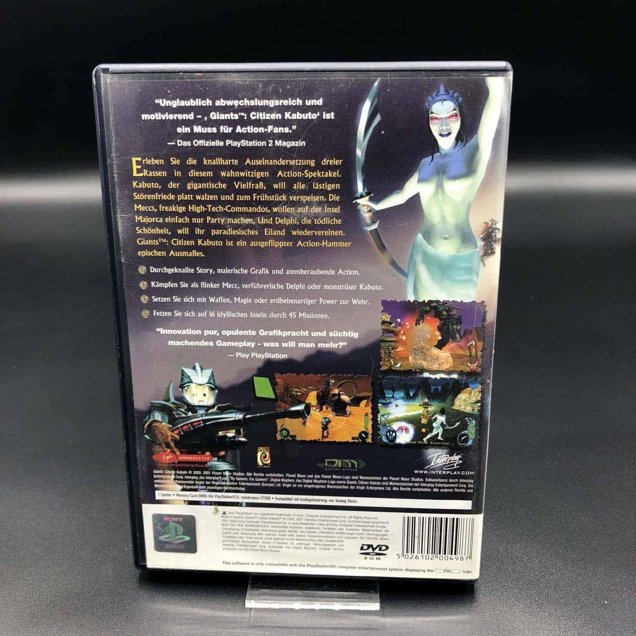 PS2 Giants: Citizen Kabuto (Komplett) (Gebrauchsspuren) Sony PlayStation 2