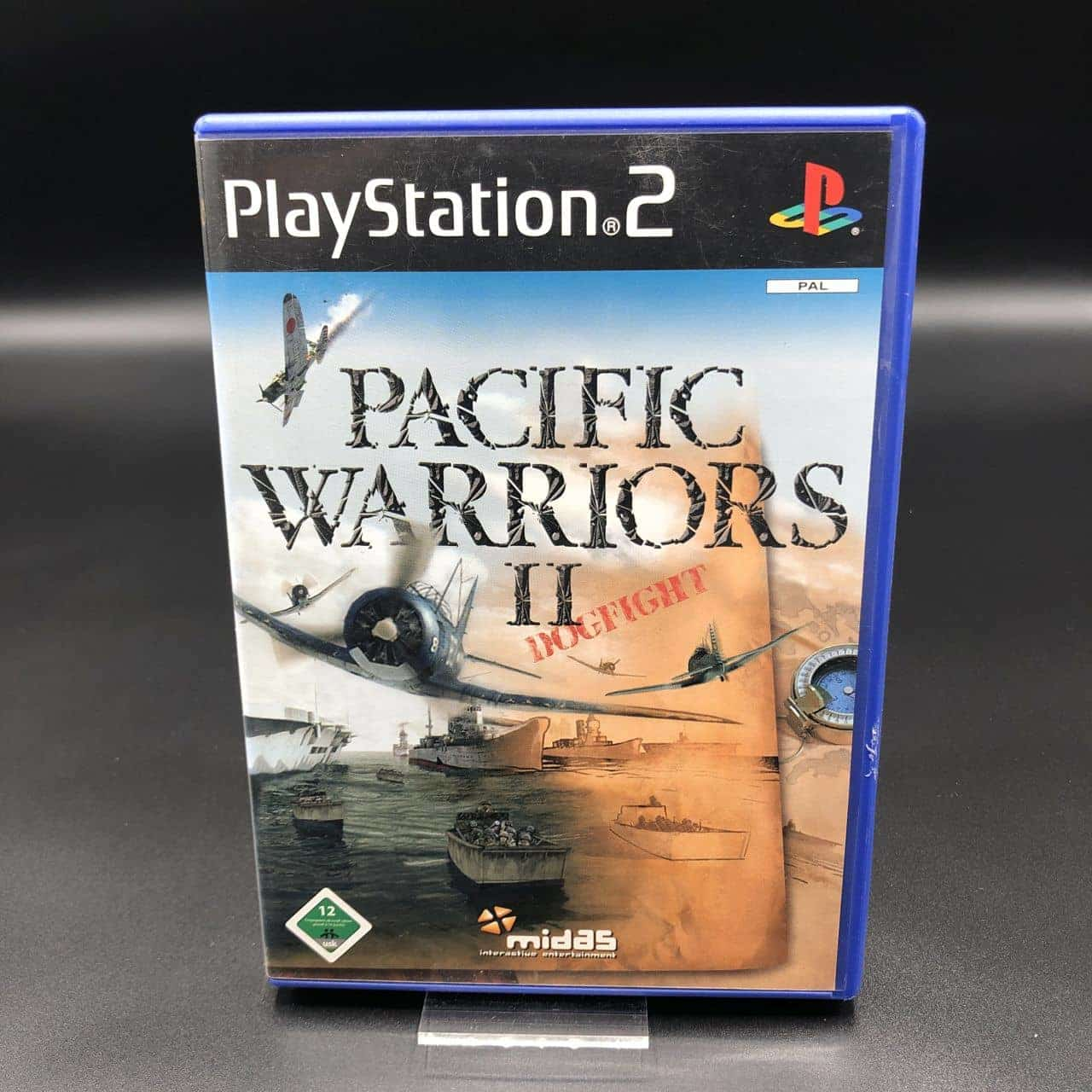 PS2 Pacific Warriors II: Dogfight (Komplett) (Sehr gut) Sony PlayStation 2