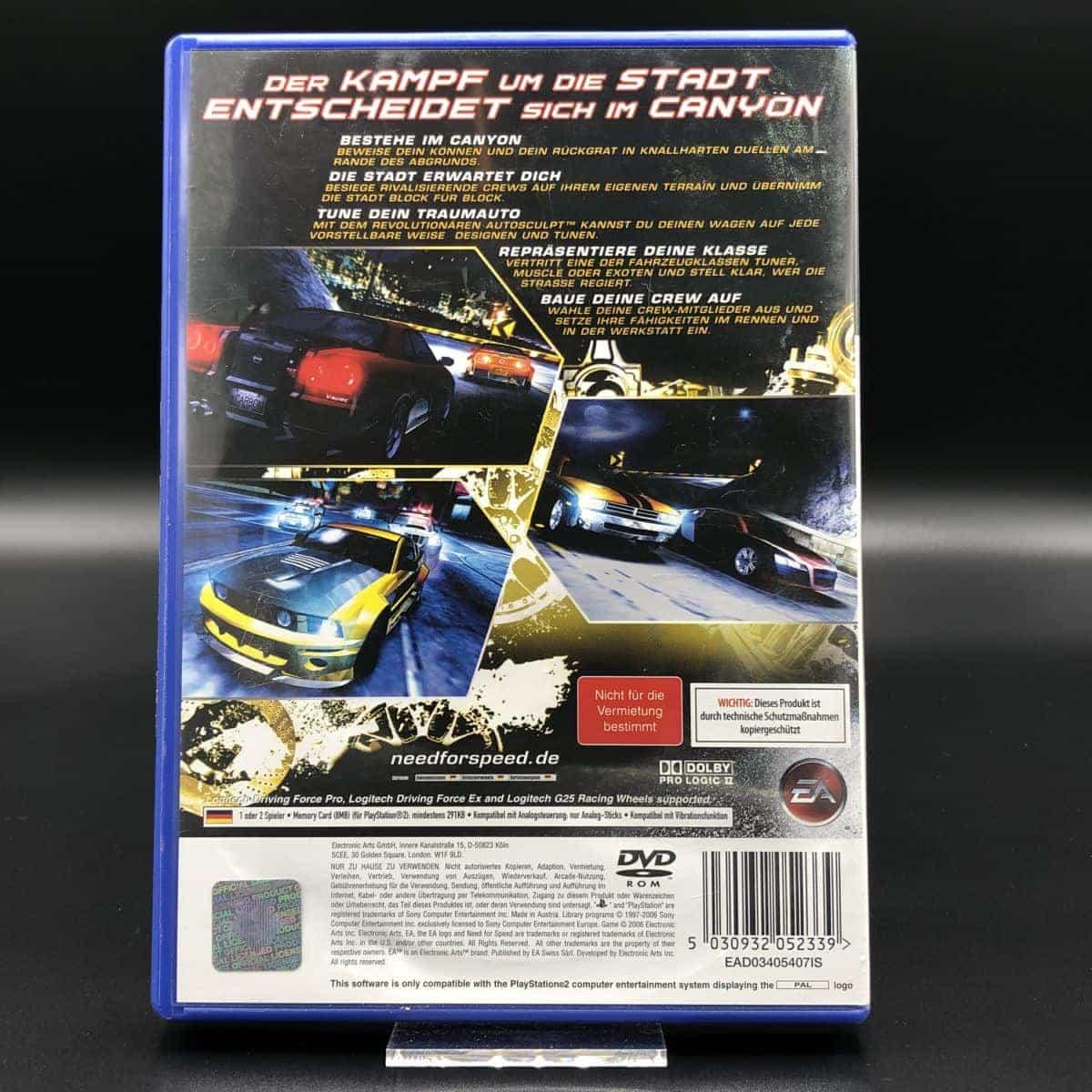 PS2 Need for Speed: Carbon (Komplett) (Gebrauchsspuren) Sony PlayStation 2