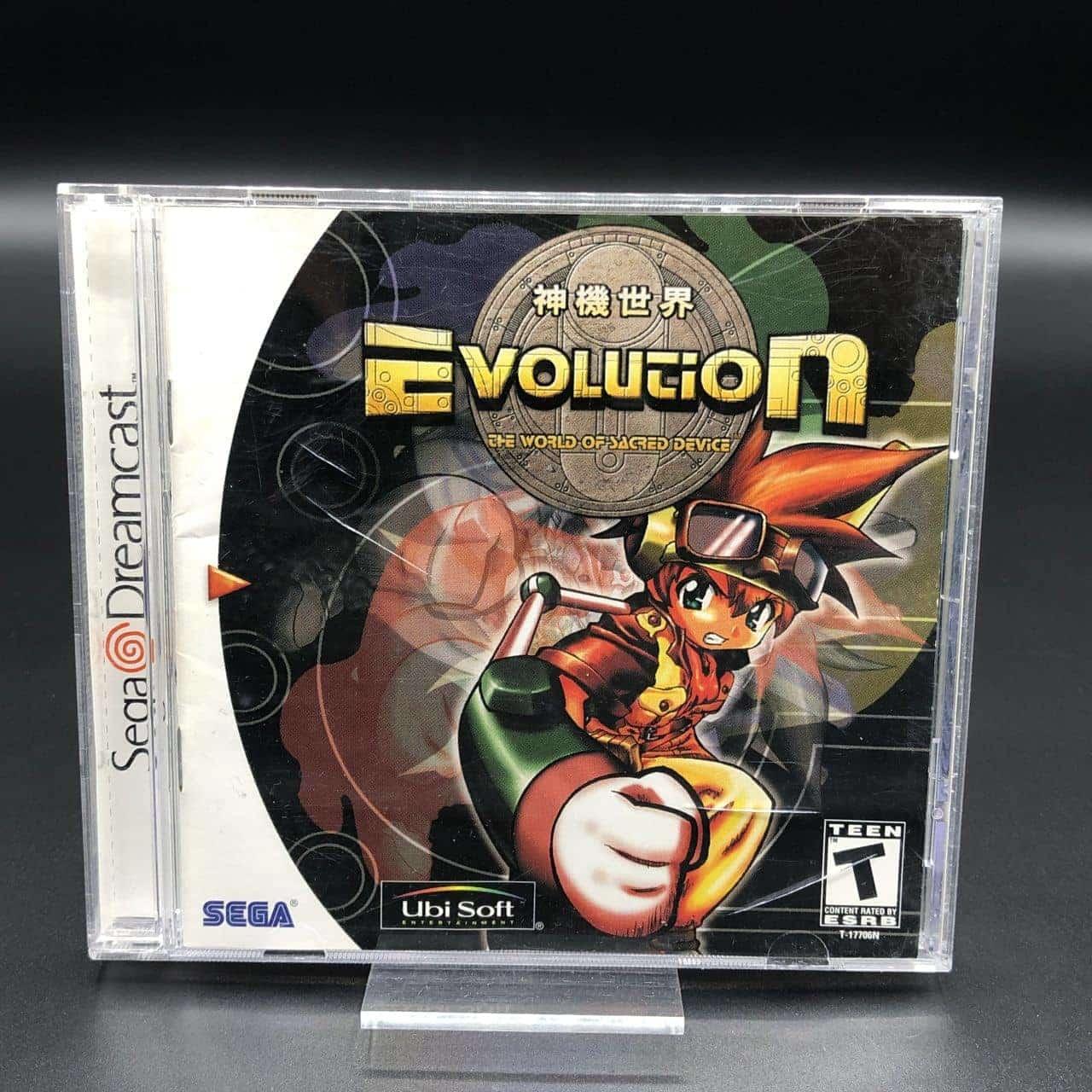 Evolution (Import USA) (Komplett) (Sehr gut) Sega Dreamcast