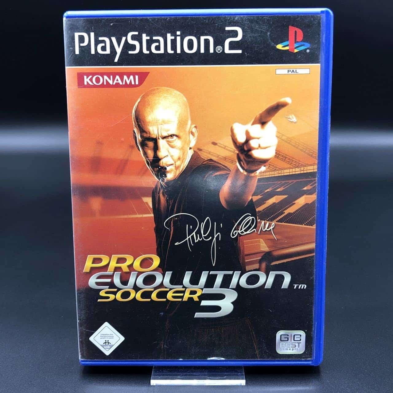 PS2 Pro Evolution Soccer 3 (Komplett) (Gebrauchsspuren) Sony PlayStation 2