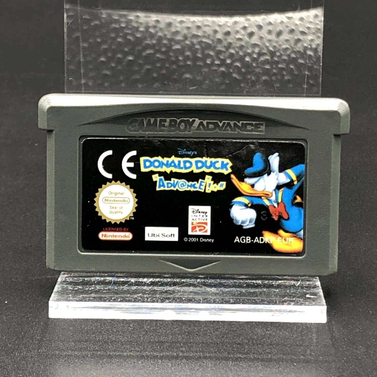 GBA Donald Duck Advance (Komplett, ohne Inlay) (Gut) Game Boy Advance