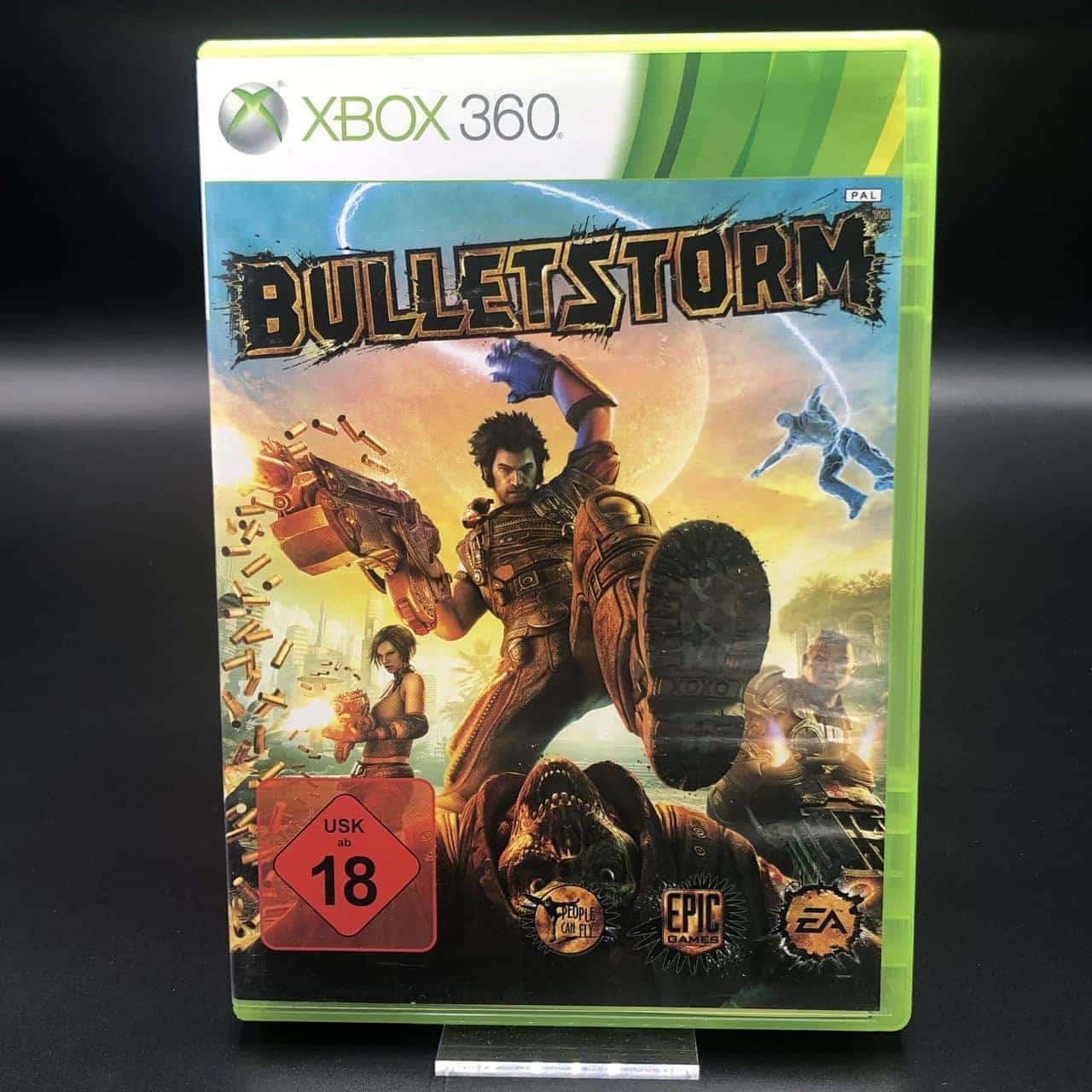 Bulletstorm (Komplett) (Sehr gut) XBOX 360 (FSK18)