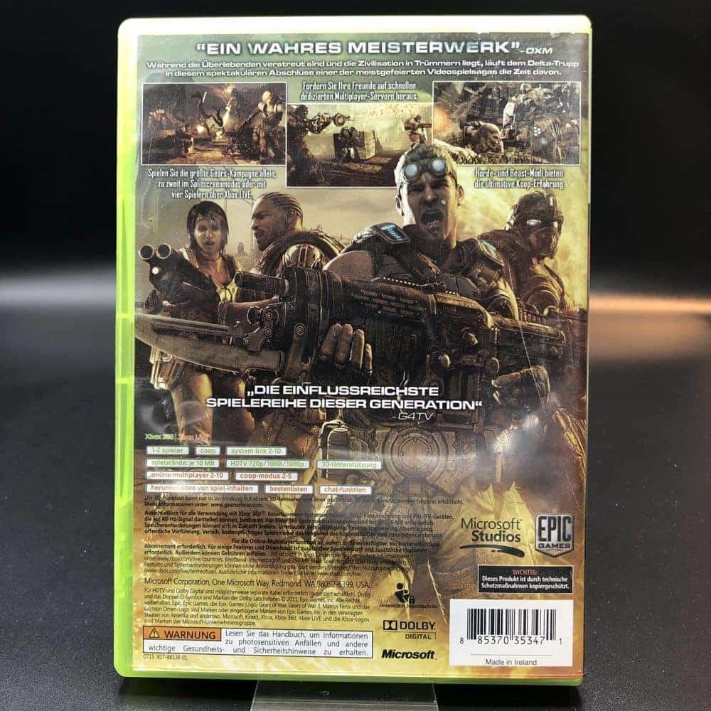 Gears of War 3 (Komplett) (Sehr gut) XBOX 360 (FSK18)
