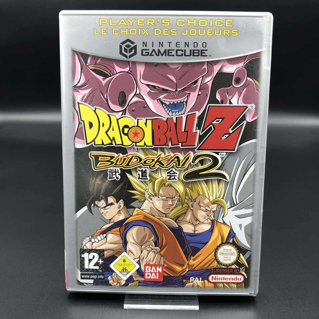 GC Dragon Ball Z: Budokai 2 (Player's Choice) (ohne Anleitung) (Gut) Nintendo GameCube