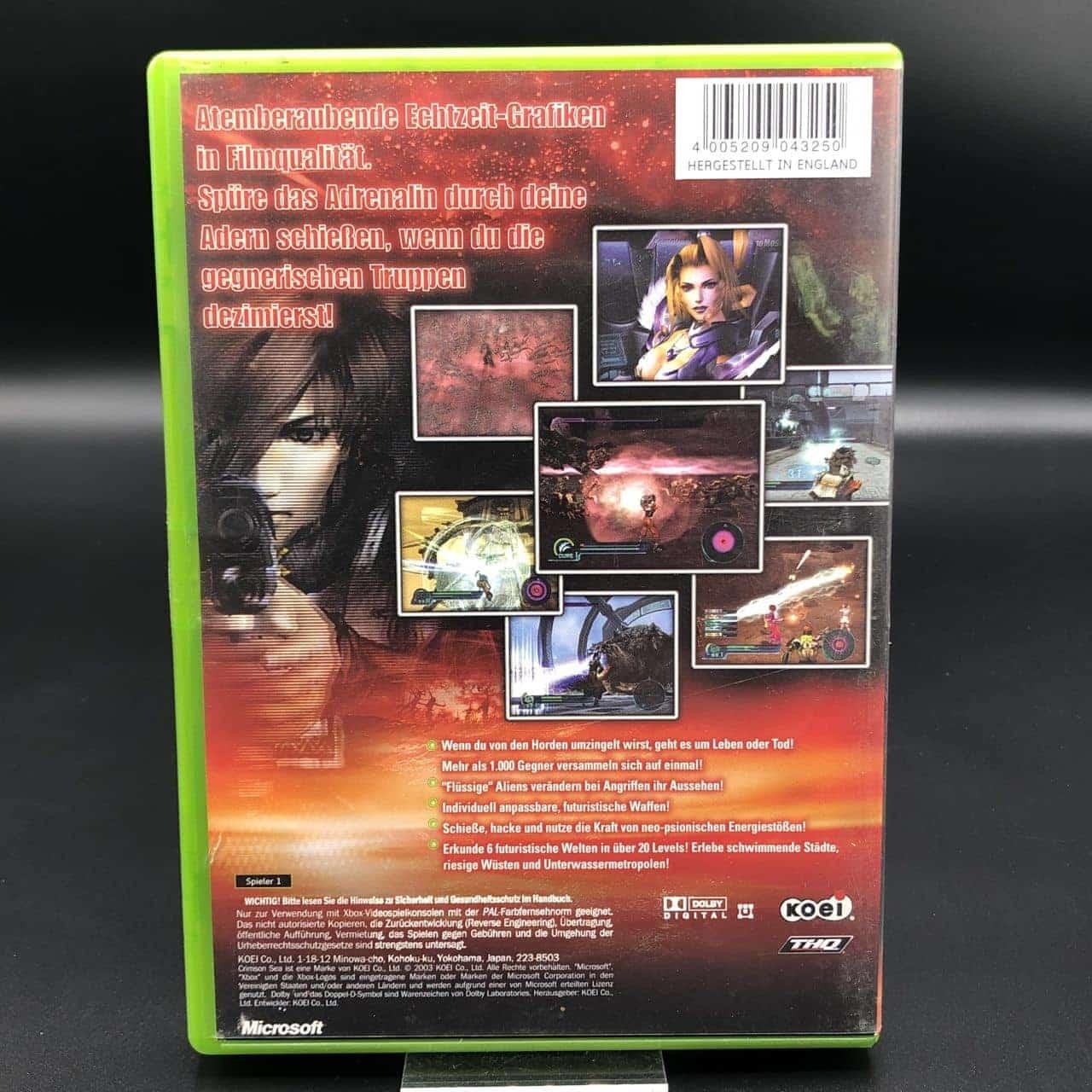 XBC Crimson Sea (Komplett) (Sehr gut) Microsoft Xbox Classic