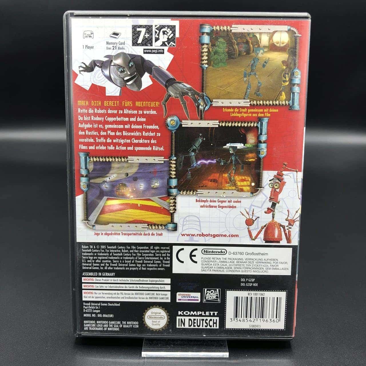 GC Robots (Komplett) (Sehr gut) Nintendo GameCube
