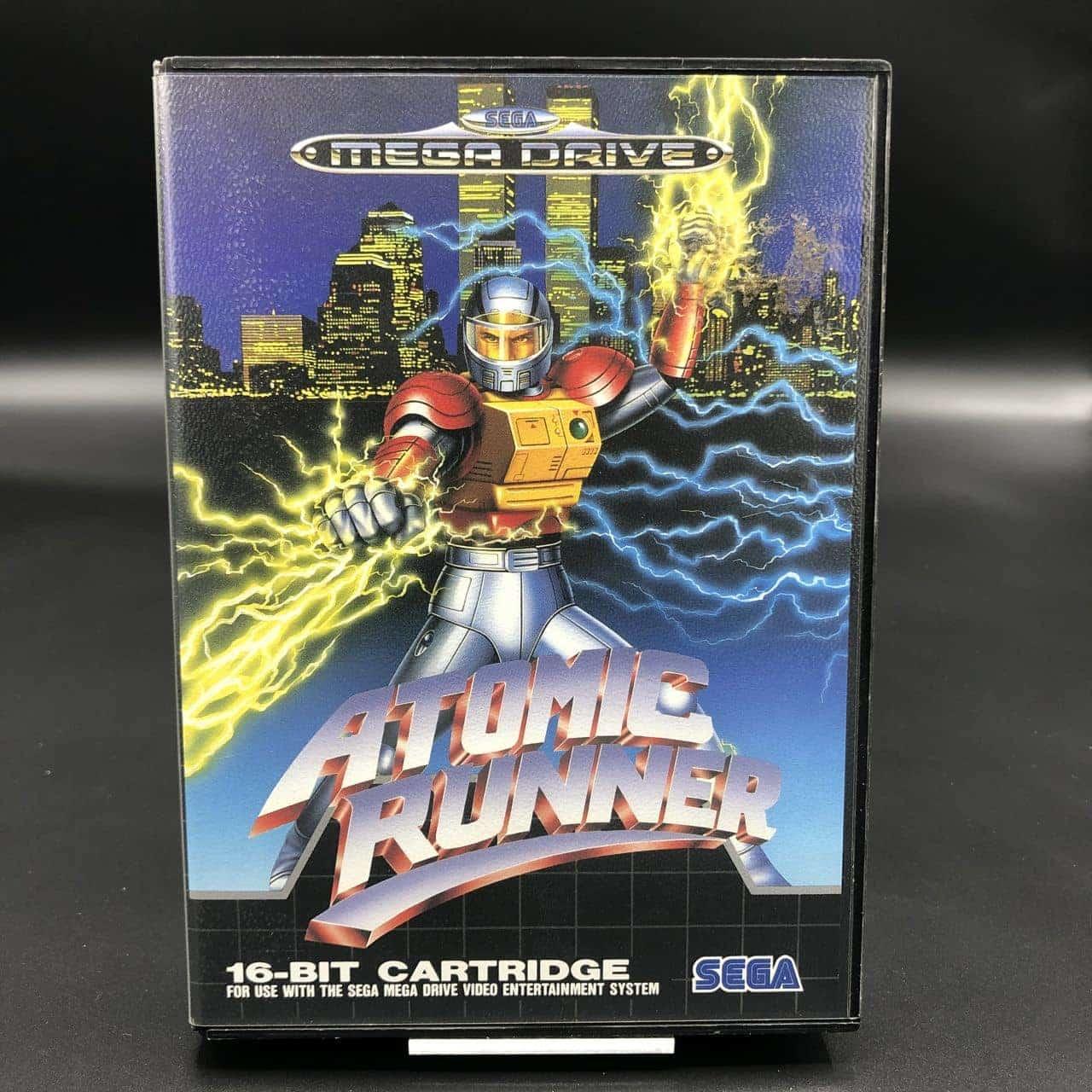 Atomic Runner (Komplett) (Sehr gut) Sega Mega Drive