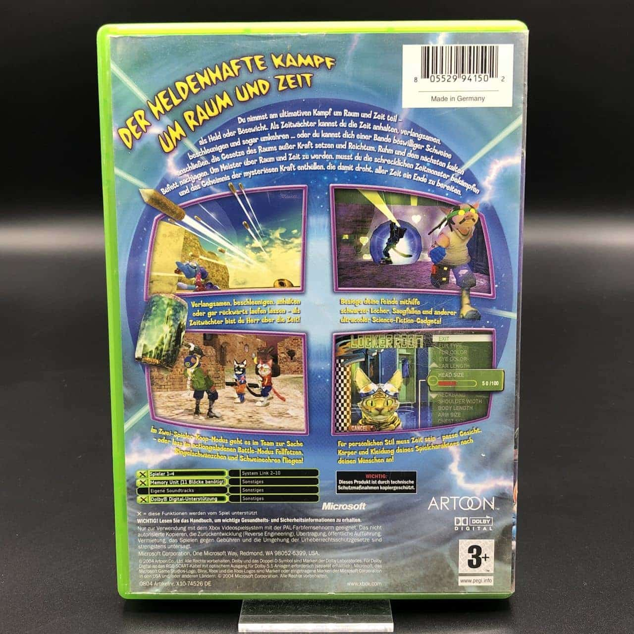 XBC Blinx 2: Masters of Time and Space (Komplett) (Gebrauchsspuren) Microsoft Xbox Classic