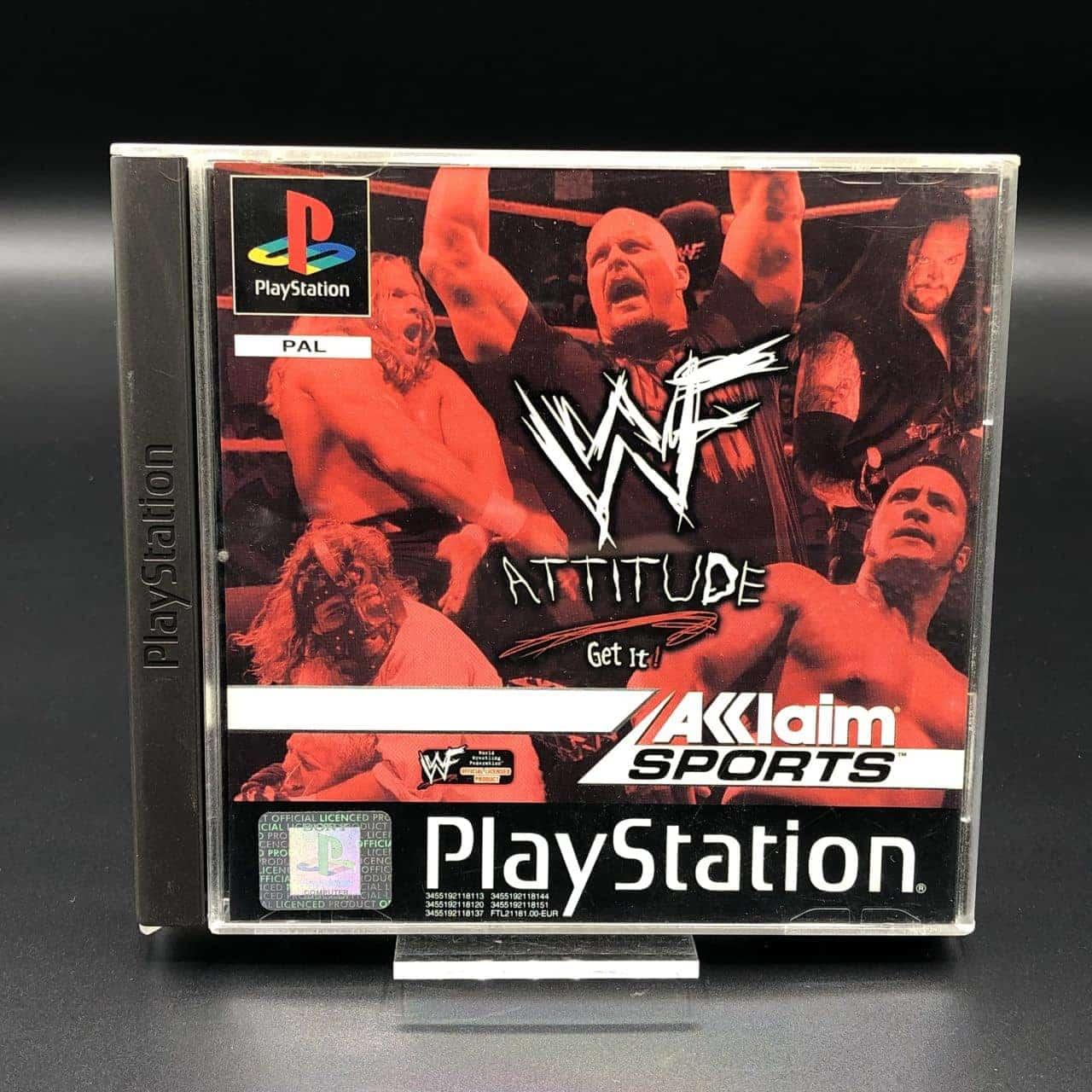 PS1 WWF Attitude: Get It (Komplett) (Gut) Sony PlayStation 1