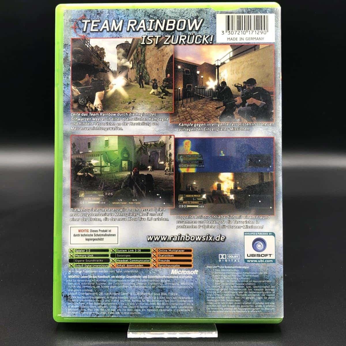 XBC Tom Clancy's Rainbow Six 3: Black Arrow (Komplett) (Gut) Microsoft Xbox Classic
