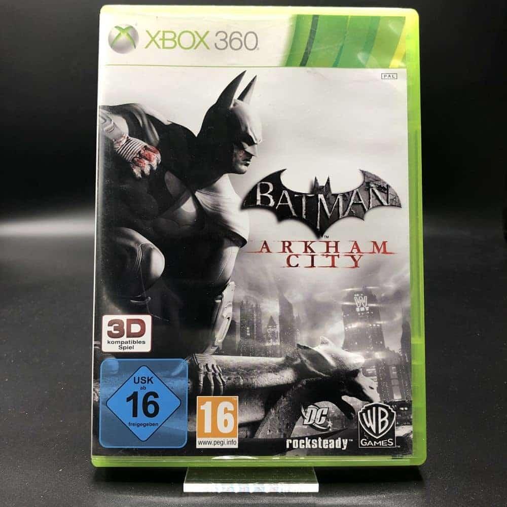 Batman: Arkham City (Komplett) (Sehr gut) XBOX 360