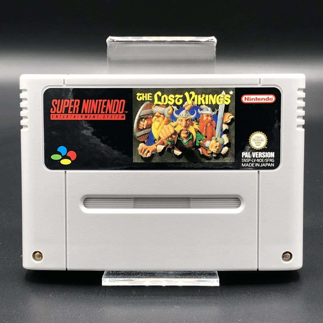 SNES The Lost Vikings (ohne Anleitung) (Gut) Super Nintendo