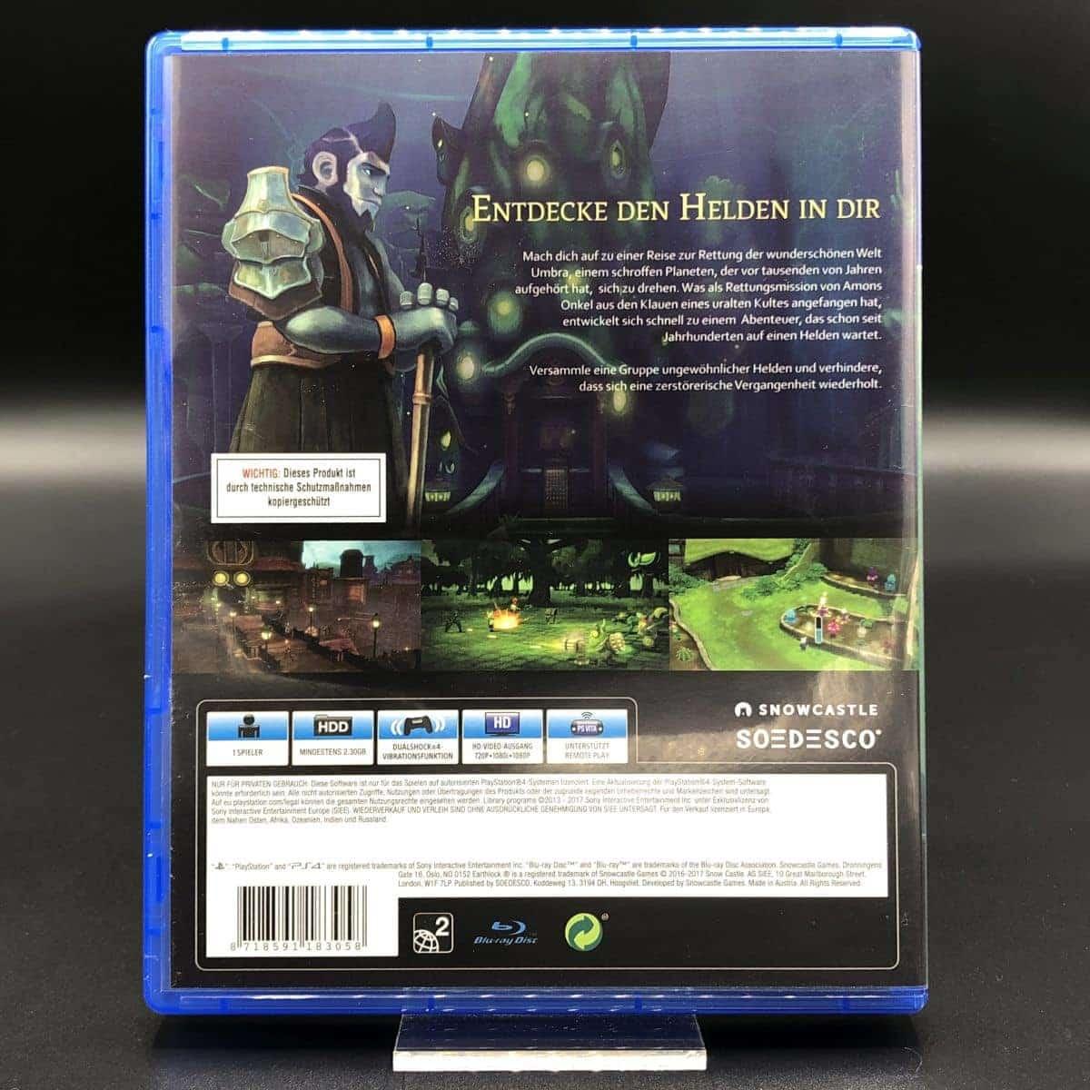 PS4 Earthlock Festival of Magic (Sehr gut) Sony PlayStation 4