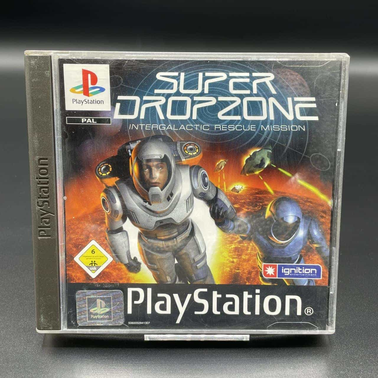 PS1 Super Dropzone: Intergalactic Rescue Mission (Komplett) (Sehr gut) Sony PlayStation 1