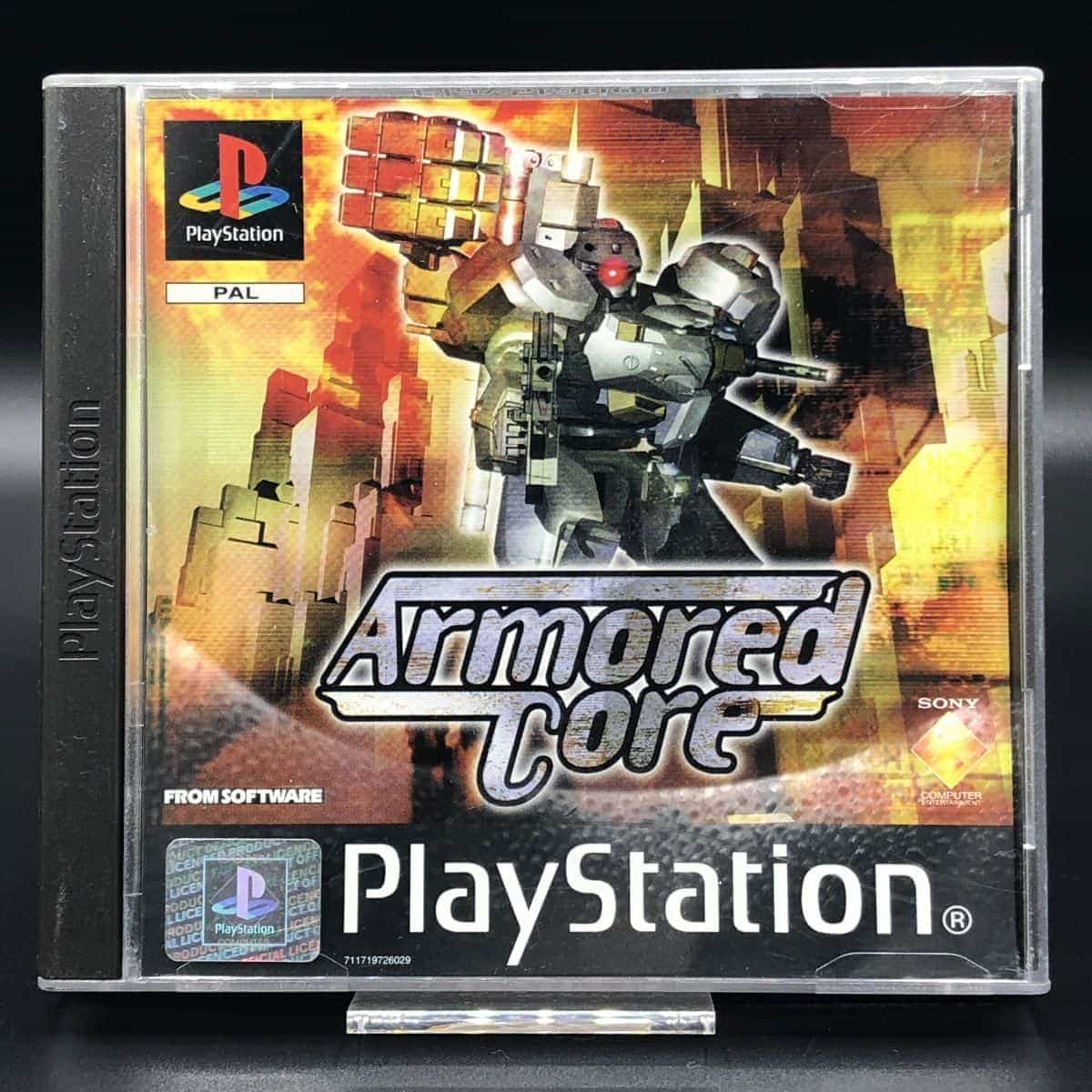 PS1 Armored Core (ohne Anleitung) (Sehr gut) Sony PlayStation 1