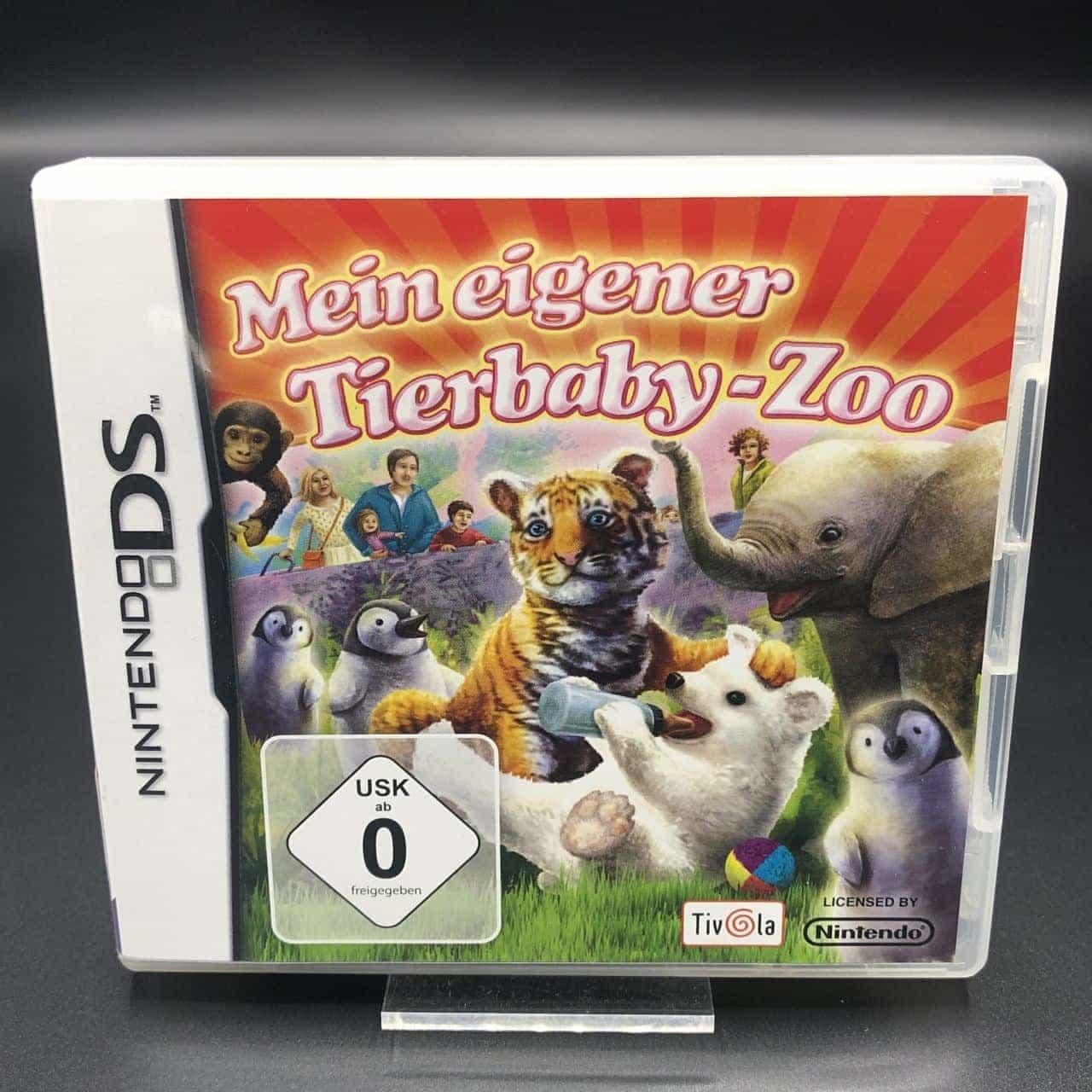 Mein eigener Tierbaby-Zoo (Komplett) (Sehr gut) Nintendo DS