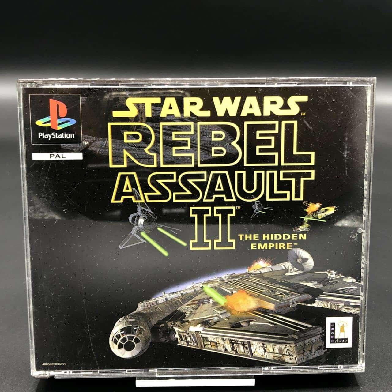 PS1 Star Wars - Rebel Assault II - The Hidden Empire (Komplett) (Sehr gut) Sony PlayStation 1 #2