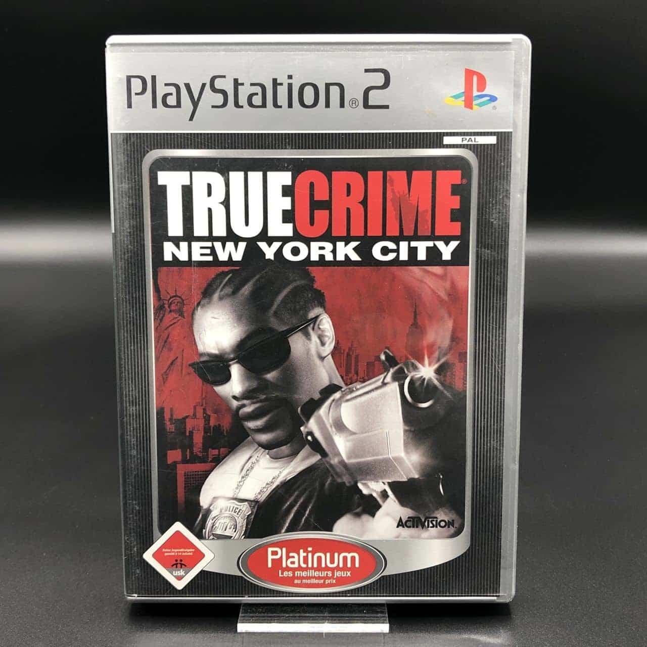 PS2 True Crime: New York City (Platinum) (Komplett) (Gut) Sony PlayStation 2 (FSK18)