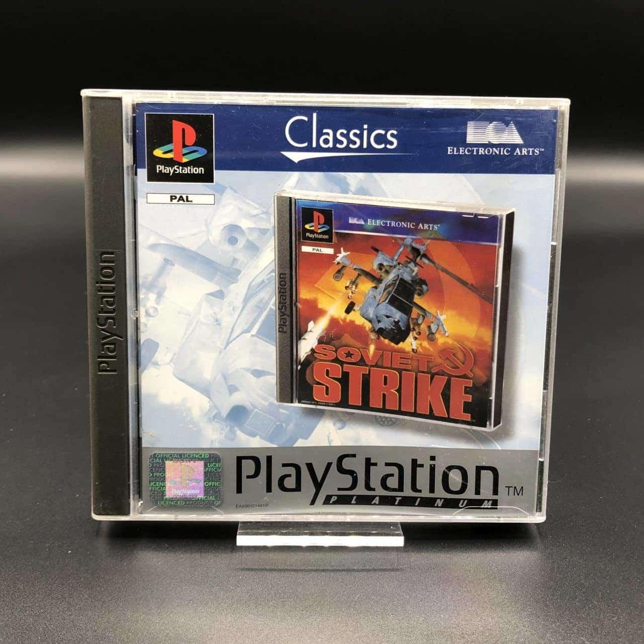 PS1 Soviet Strike (Platinum) (Komplett) (Sehr gut) Sony PlayStation 1 (FSK18)