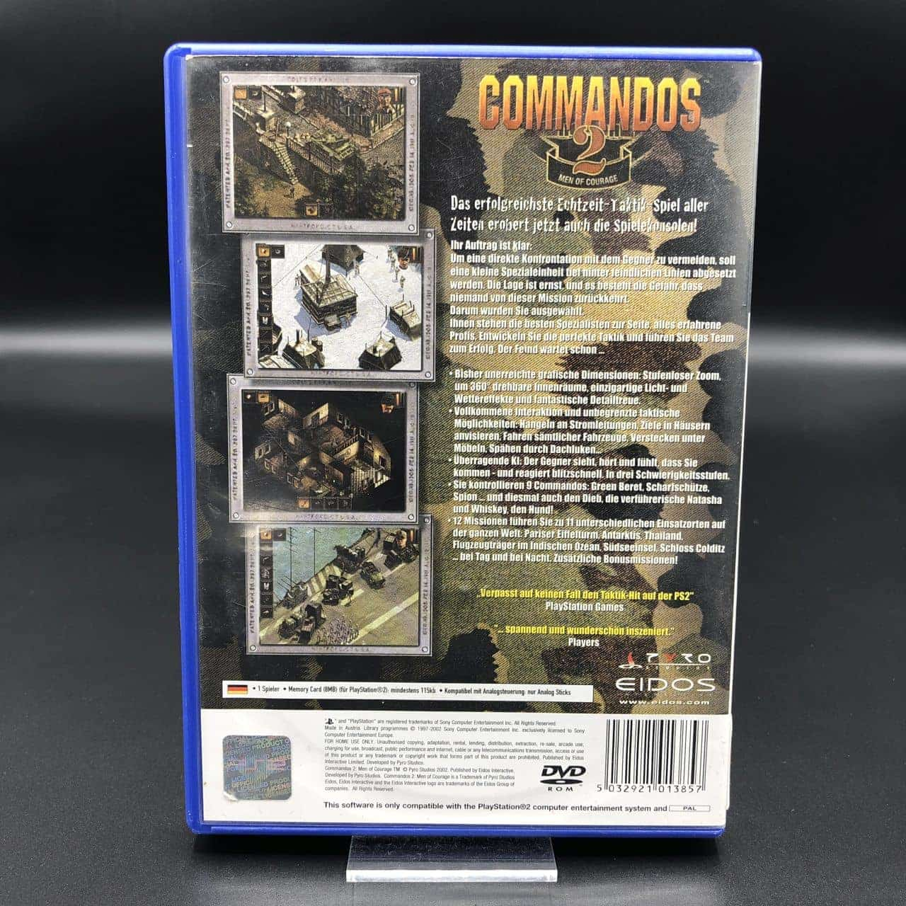 PS2 Commandos 2: Men of Courage (ohne Anleitung) (Gebrauchsspuren) Sony PlayStation 2