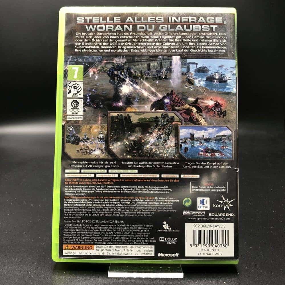 Supreme Commander 2 (Komplett) (Sehr gut) XBOX 360