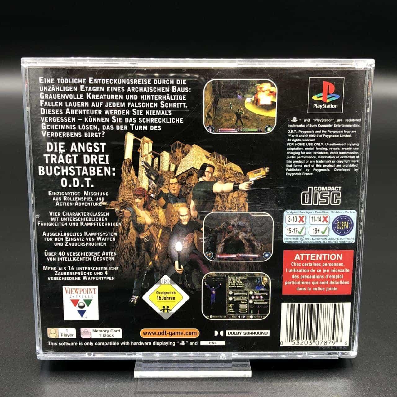 PS1 ODT (Komplett) (Sehr gut) Sony PlayStation 1