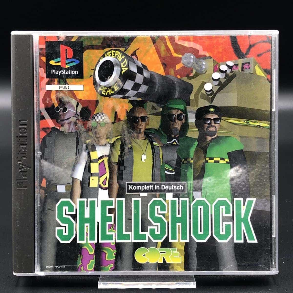 PS1 Shellshock (Komplett) (Sehr gut) Sony PlayStation 1