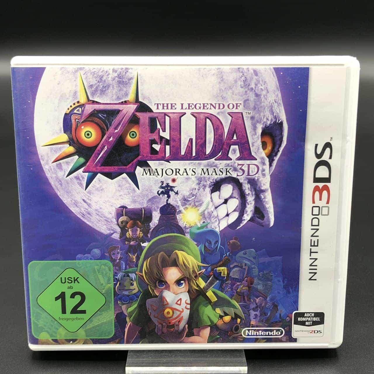 Zelda Majora's Mask 3D (Sehr gut) Nintendo 3DS