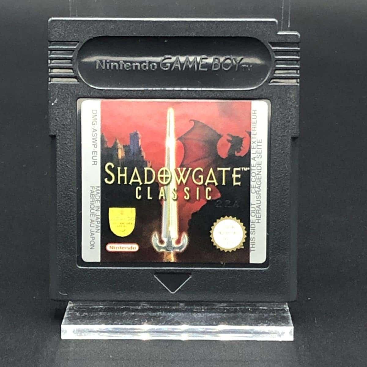 GBC Shadowgate Classic (Komplett) (Gut) Nintendo Game Boy Color