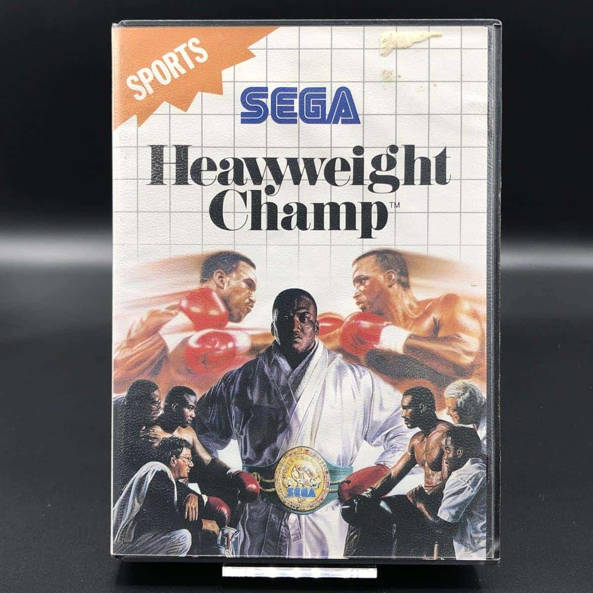 Heavyweight Champ (ohne Anleitung) (Gut) Sega Master System