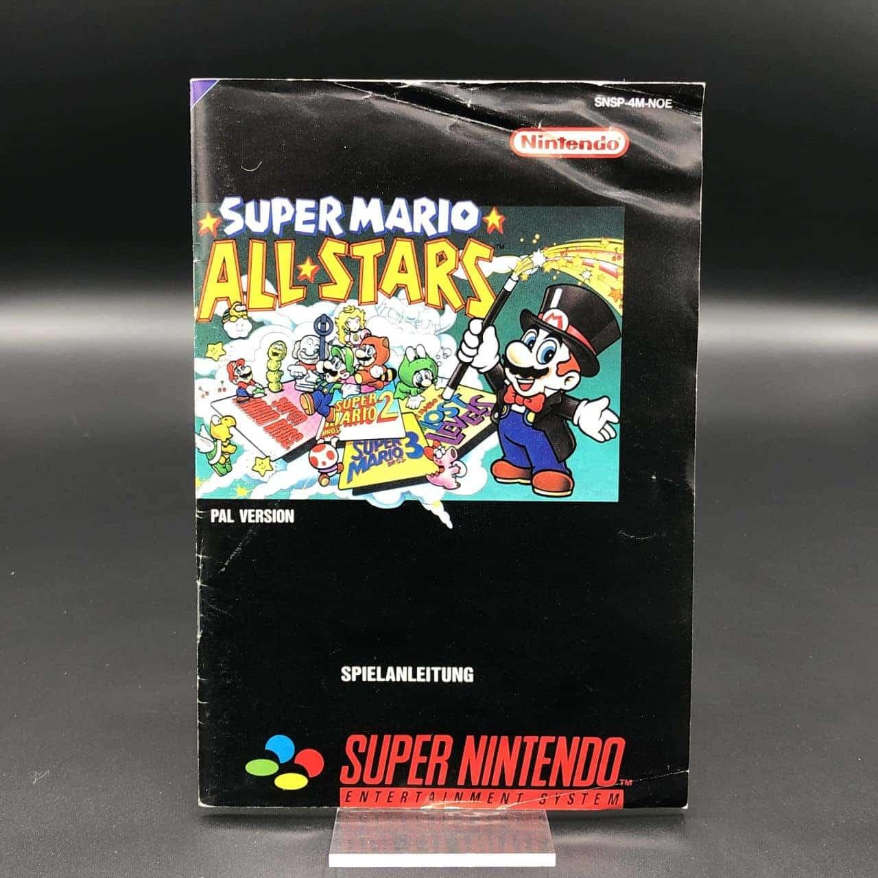 SNES Super Mario All-Stars (Komplett) (Gut) Super Nintendo