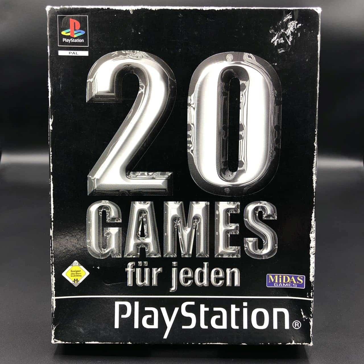 PS1 Family Games Compendium - 20 Games für jeden (Komplett) (Gebrauchsspuren) Sony PlayStation 1