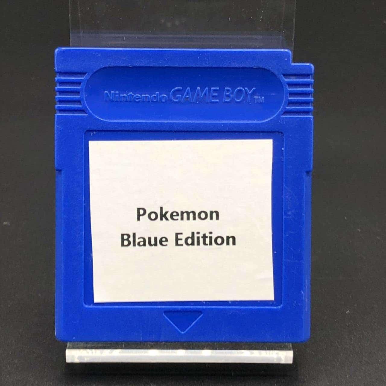 GB Pokemon Blaue Version (Modul) (Gebrauchsspuren) Nintendo Game Boy