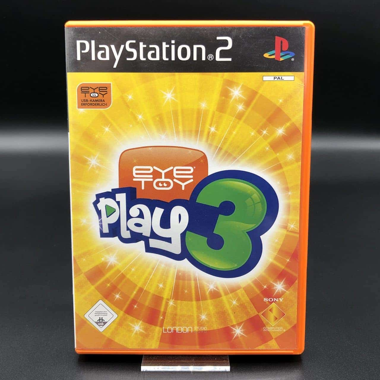 PS2 EyeToy: Play 3 (ohne Anleitung) (Sehr gut) Sony PlayStation 2