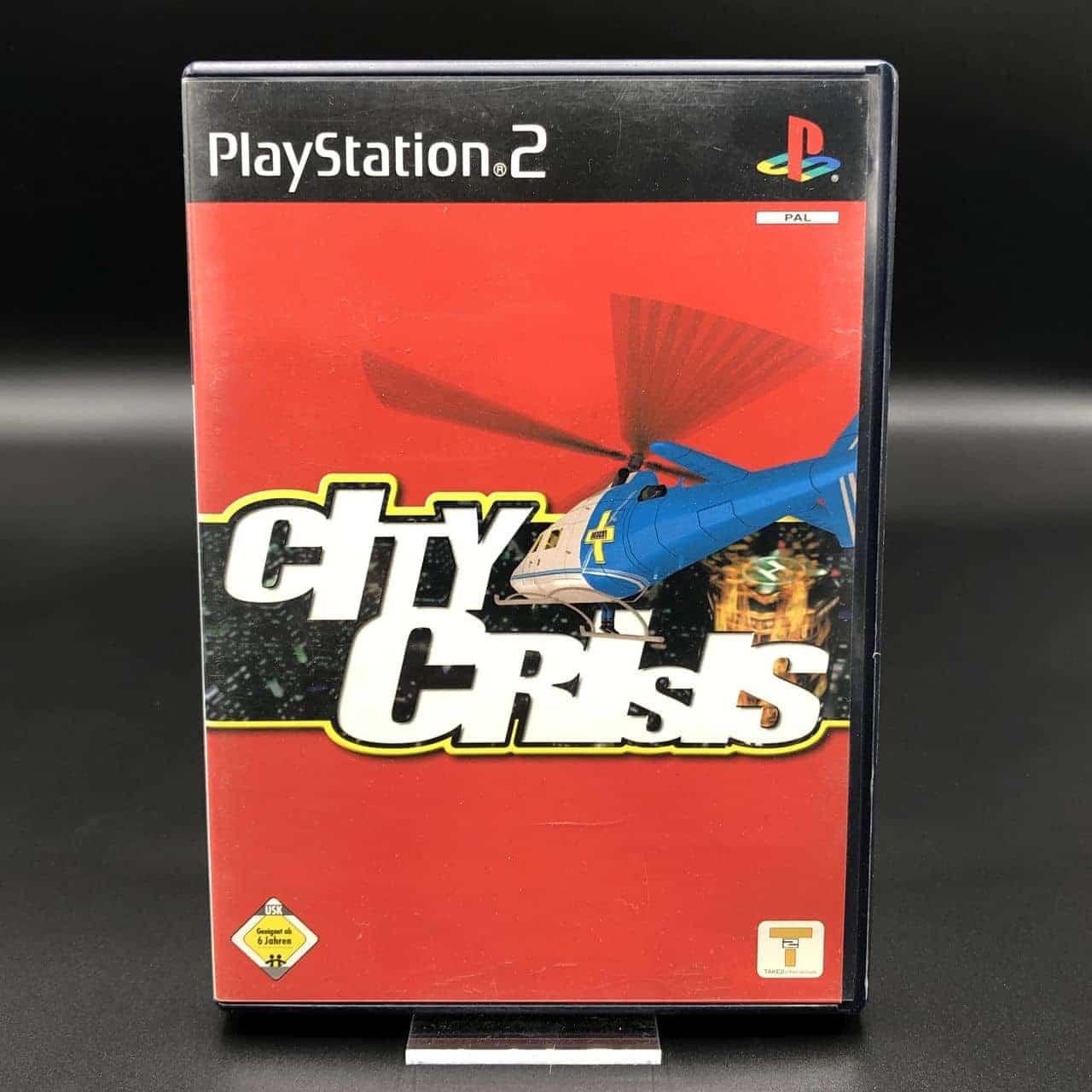 PS2 City Crisis (Komplett) (Gebrauchsspuren) Sony PlayStation 2