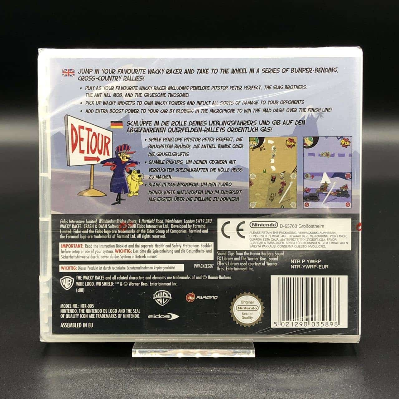 Wacky Races: Crash & Dash (NEU) Nintendo DS