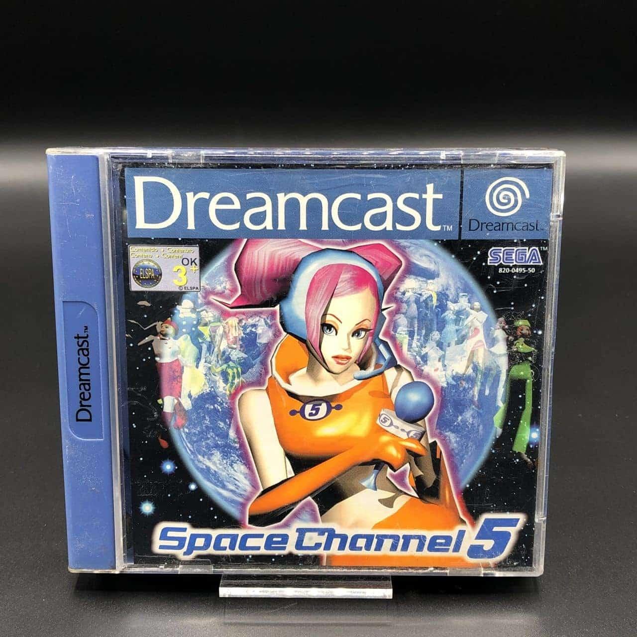 Space Channel 5 (Komplett) (Gut) Sega Dreamcast