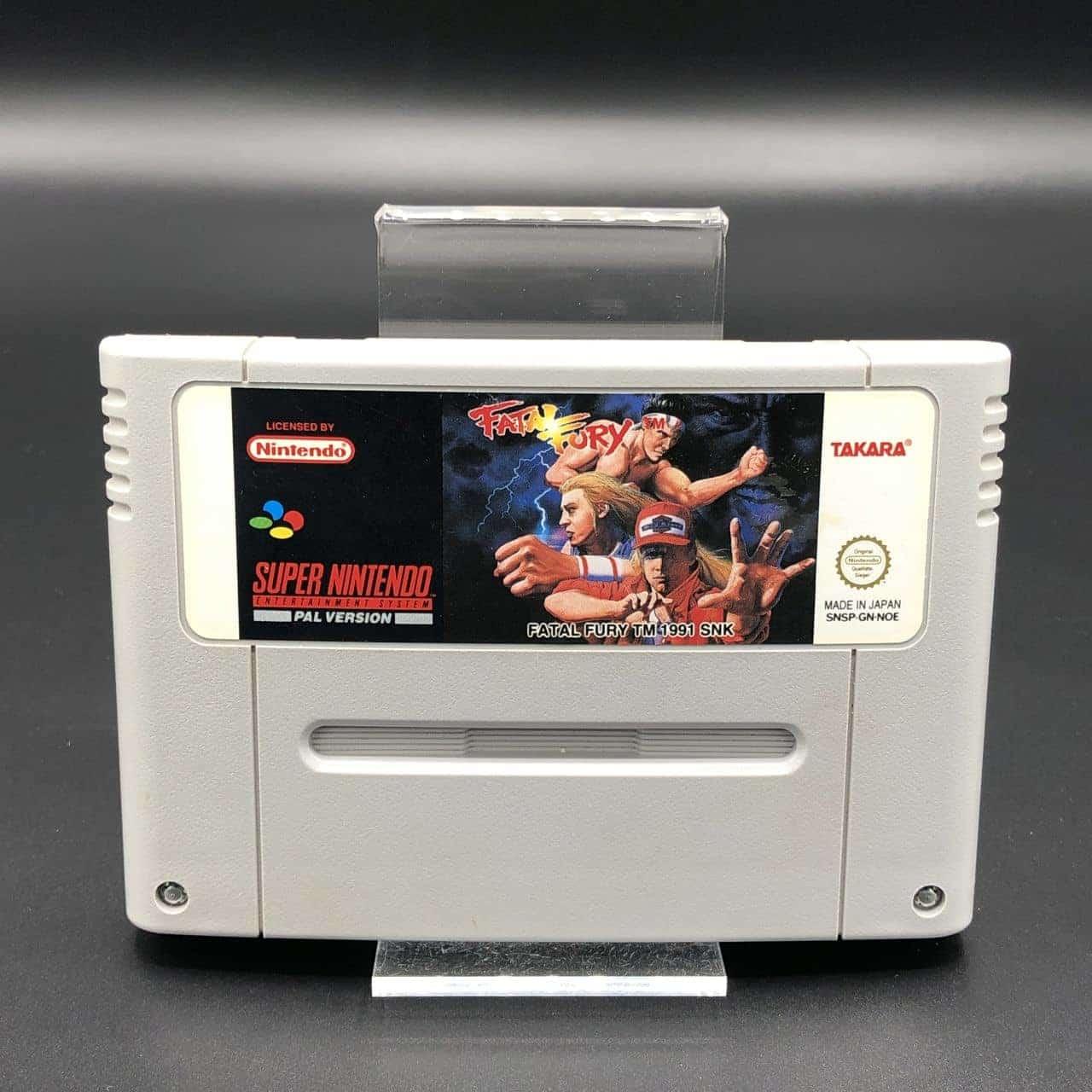 SNES Fatal Fury (Modul) (Gut) Super Nintendo #1