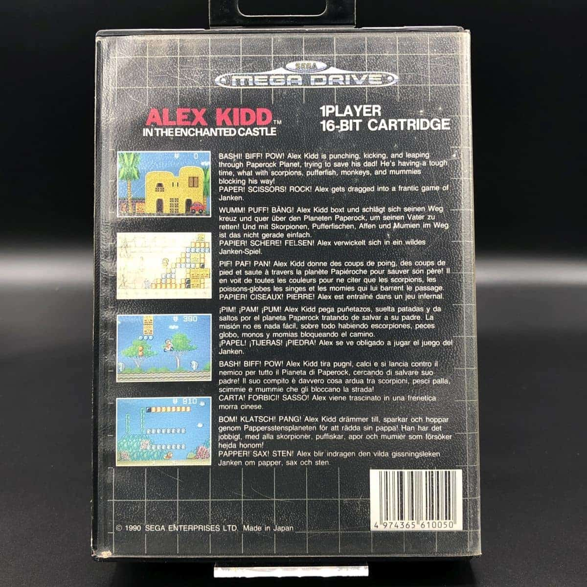 Alex Kidd in the Enchanted Castle (ohne Anleitung) (Gebrauchsspuren) Sega Mega Drive