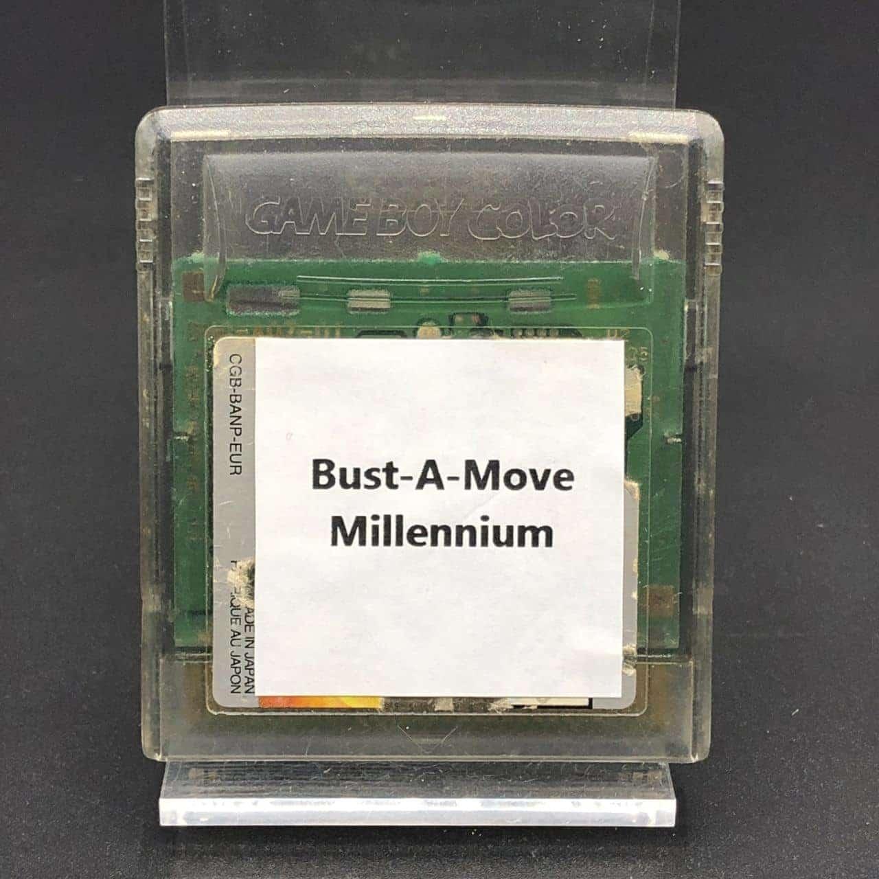 GBC Bust-A-Move Millennium (Modul) (Gebrauchsspuren) Nintendo Game Boy Color