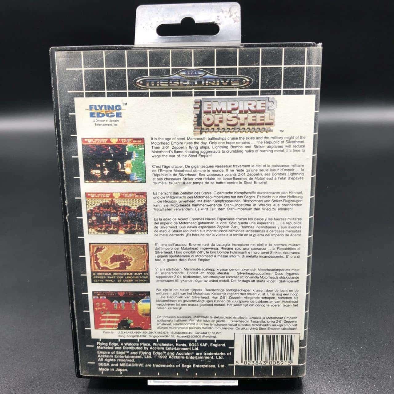 Empire of Steel (ohne Anleitung) (Gut) Sega Mega Drive
