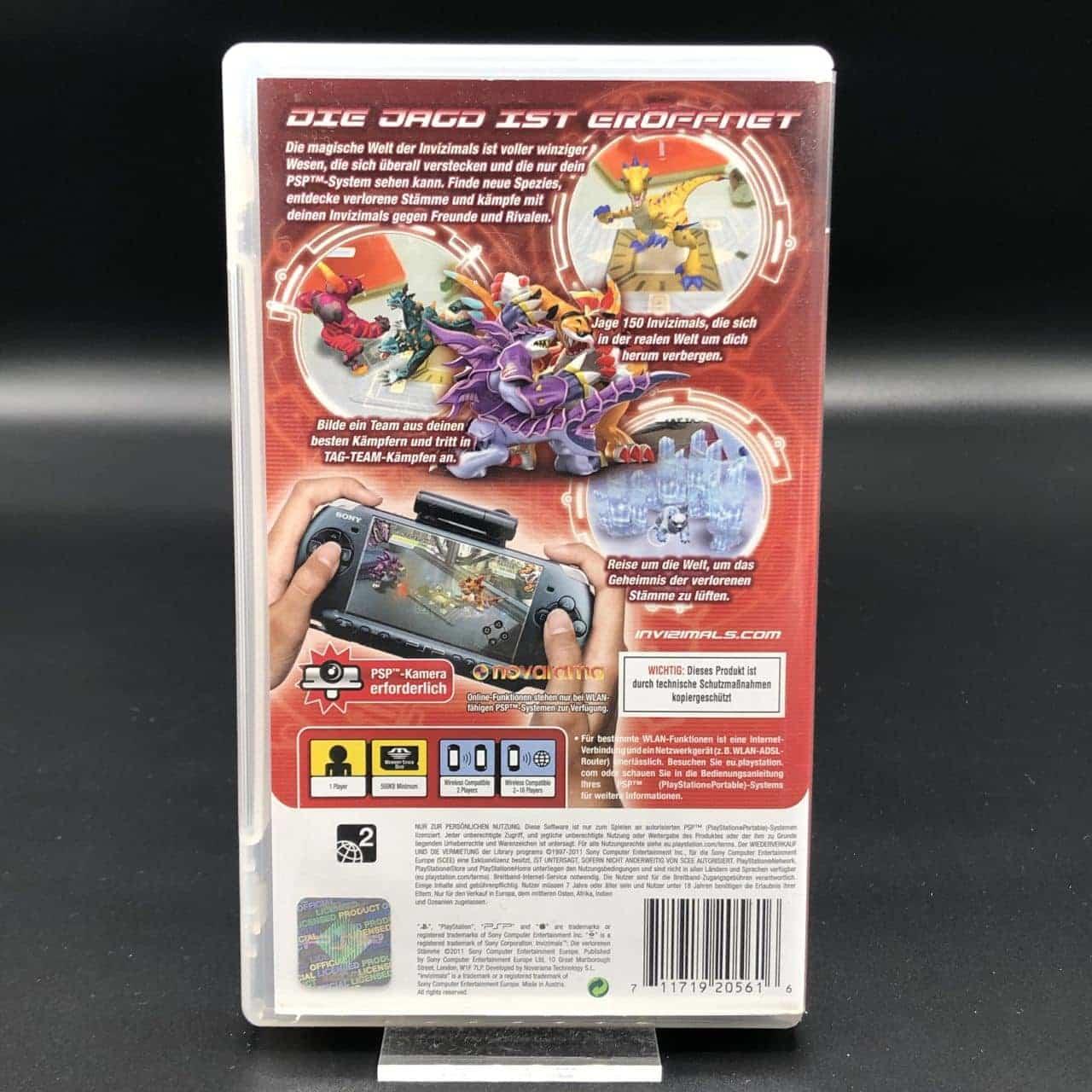 PSP Invizimals: Die verlorenen Stämme (Komplett) (Sehr gut) Sony PlayStation Portable
