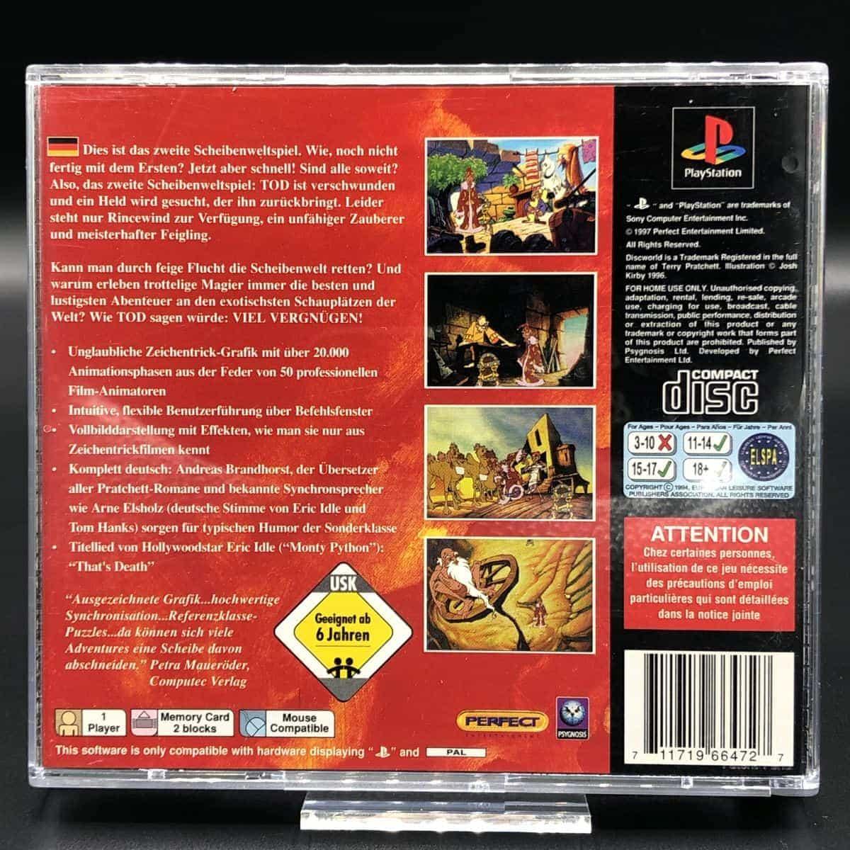 PS1 Discworld II Vermutlich Vermisst..!? (Komplett) (Sehr gut) Sony PlayStation 1