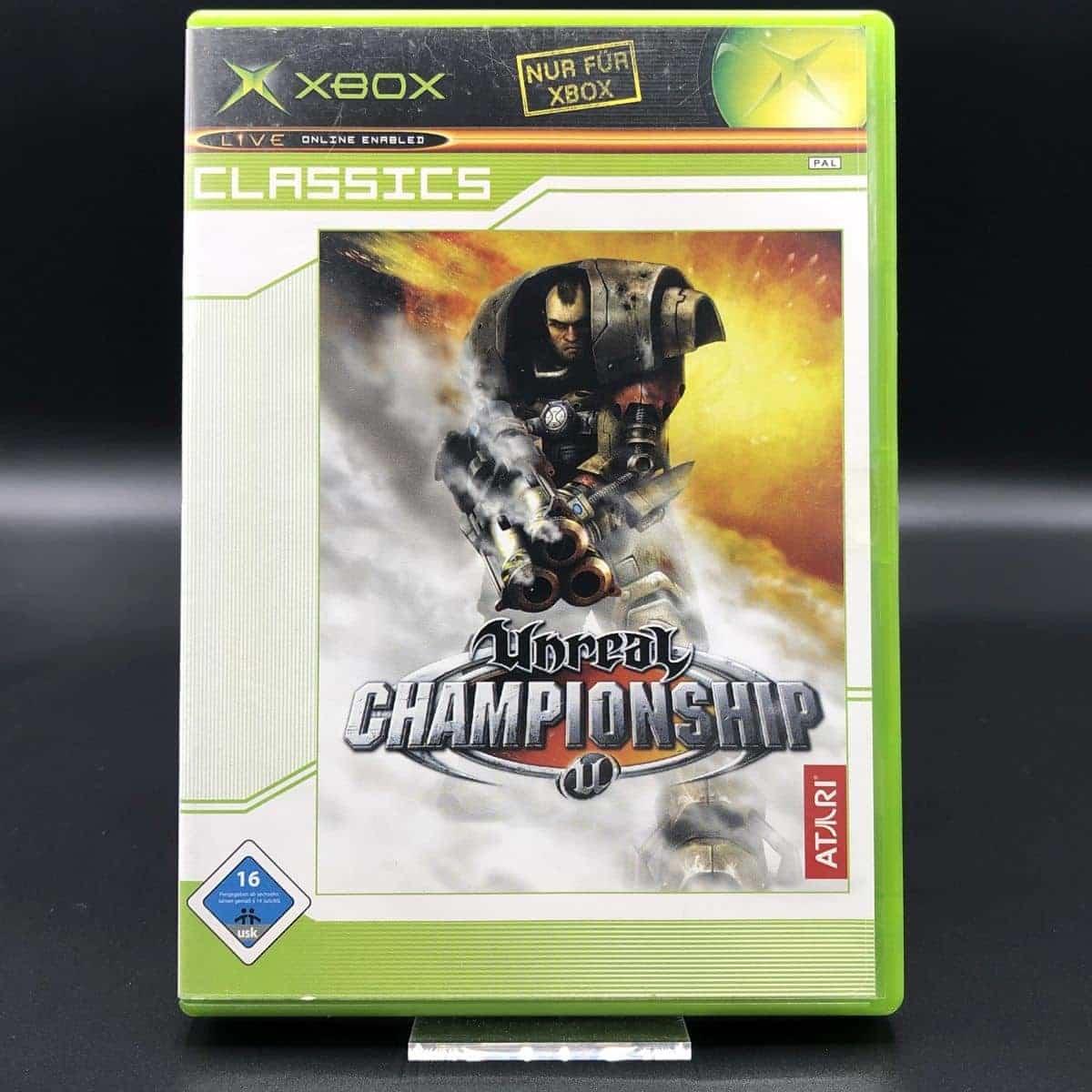 XBC Unreal Championship (Classics) (Komplett) (Gut) Microsoft Xbox Classic