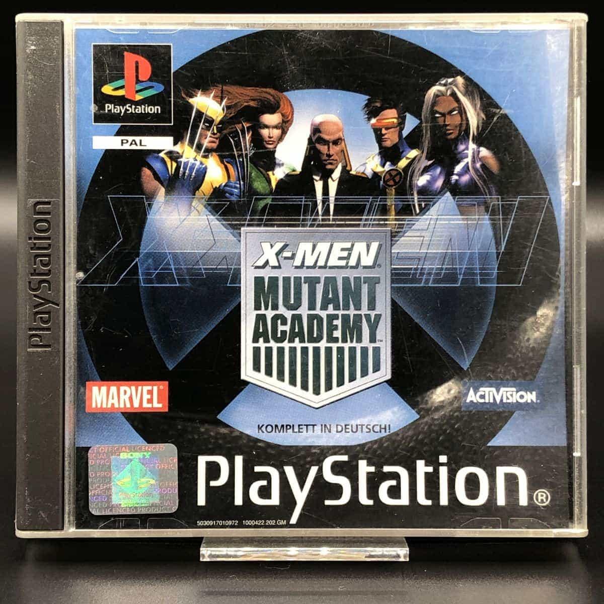 PS1 X-Men: Mutant Academy (Komplett) (Sehr gut) Sony PlayStation 1