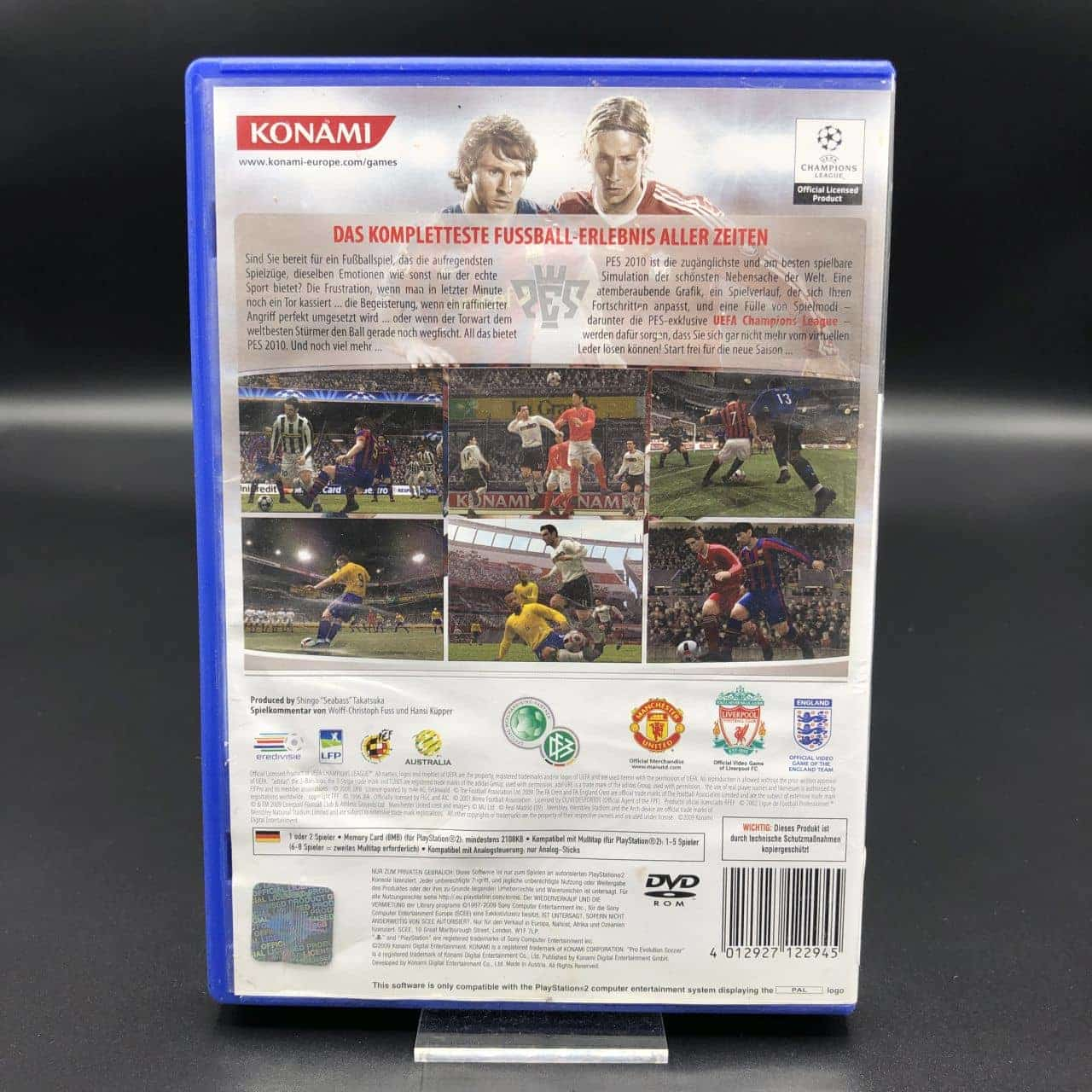 PS2 Pro Evolution Soccer 2010 (ohne Anleitung) (Gut) Sony PlayStation 2