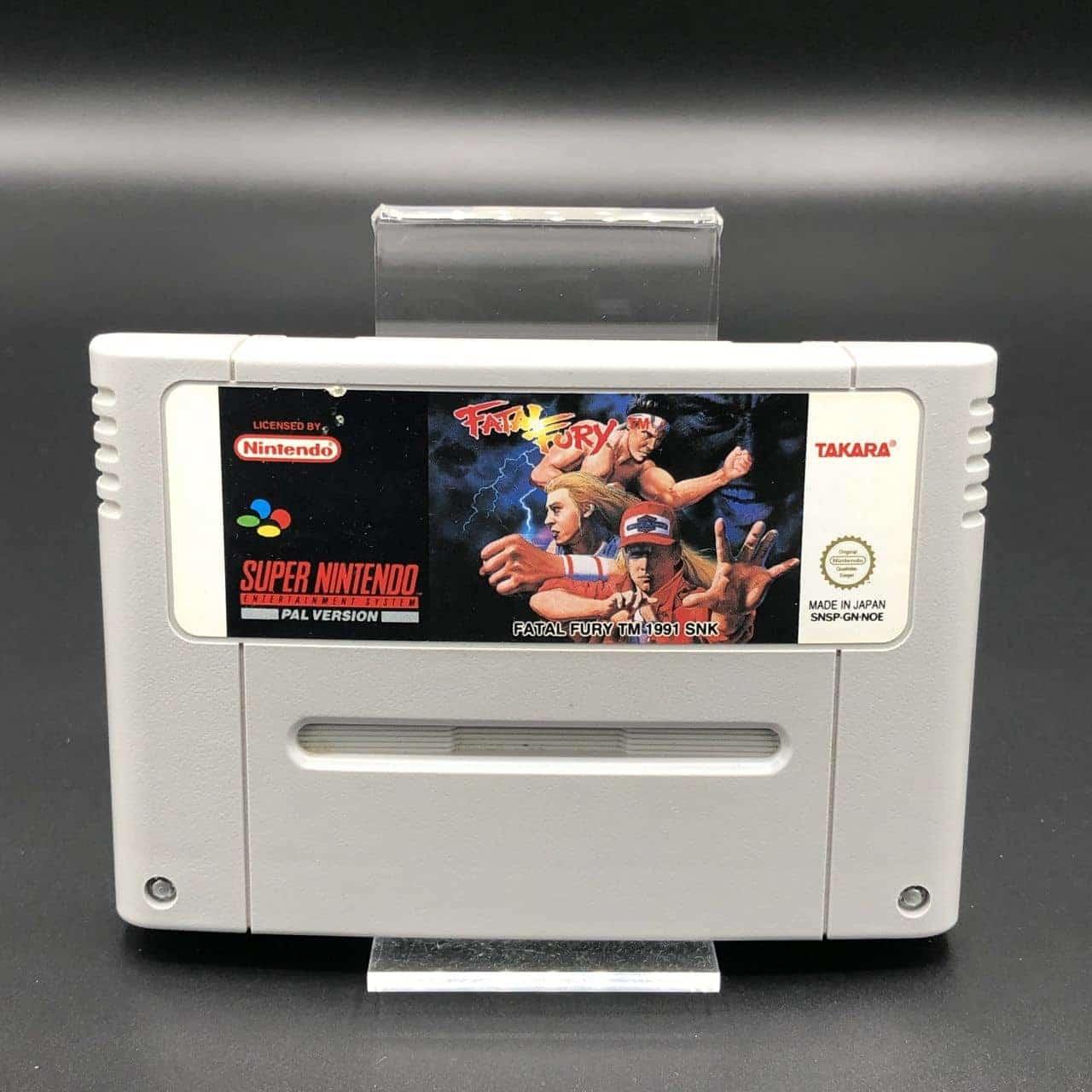 SNES Fatal Fury (Modul) (Gut) Super Nintendo #2